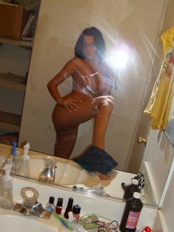 Damn Hot Amateur Babe Selfshots - pics 13