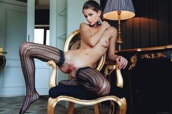 Sexy Loretta A in Fancy Stockings - pics 05