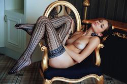 Sexy Loretta A in Fancy Stockings - pics 07