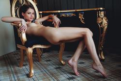 Sexy Loretta A in Fancy Stockings - pics 14