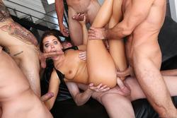 Five Pornstars Bang Adriana Chechik - pics 11