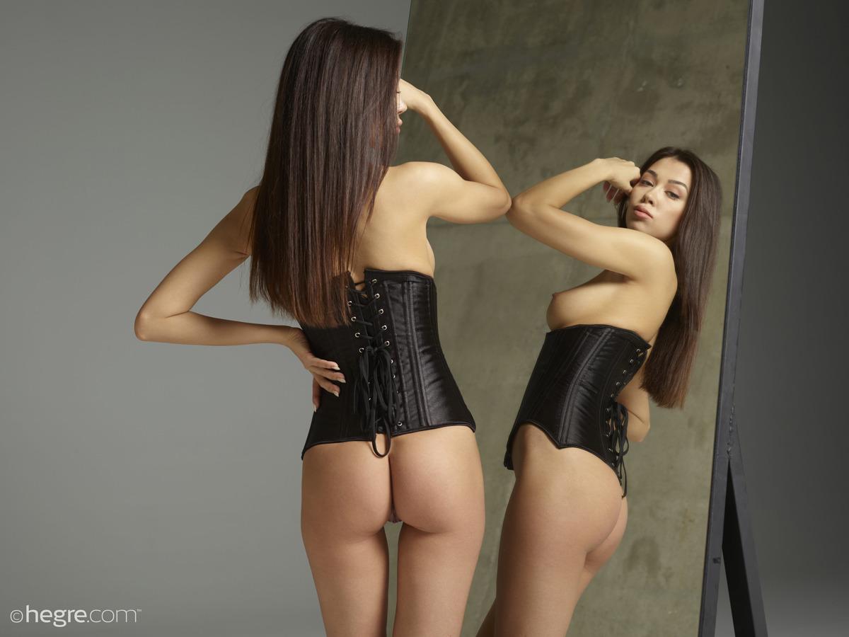Nicolette Twins - Satin Corset Pics - picture 17