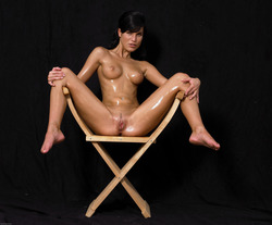 Oiled Babe Mirta Extreme Exposure - pics 13
