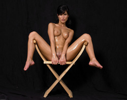 Oiled Babe Mirta Extreme Exposure - pics 14