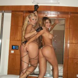 Amazing Big Booty Amateur Lesbians - pics 09