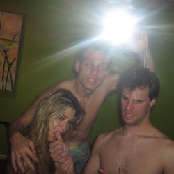 Amateur Babe Fucked by Best Friends - pics 17