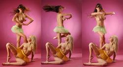 Melany and Sofi A Nude Choreography - pics 17