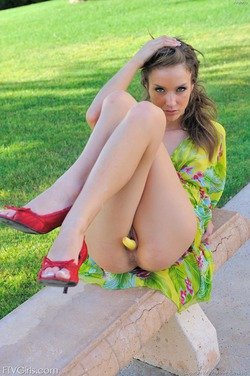 Sexy Malena Morgan Fiery Red Heels - pics 06