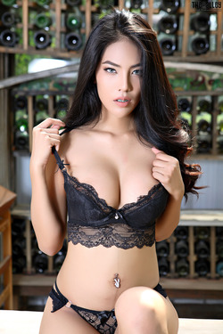 Beautiful Thai Babe Arya Stripping - pics 03