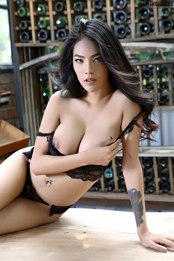 Beautiful Thai Babe Arya Stripping - pics 04