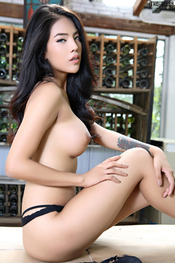 Beautiful Thai Babe Arya Stripping - pics 09