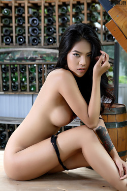 Beautiful Thai Babe Arya Stripping - pics 13