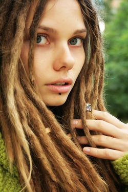 Beautiful Rasta Girl Sindi Candid - pics 01