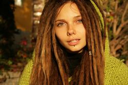 Beautiful Rasta Girl Sindi Candid - pics 10
