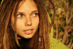 Beautiful Rasta Girl Sindi Candid - pics 11