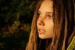 Beautiful Rasta Girl Sindi Candid - pics 12