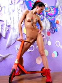 Petite Russian Model Maria Nude