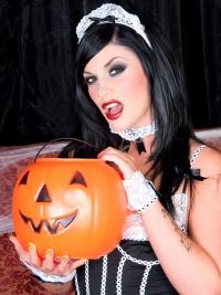 Andy San Dimas Halloween Maid