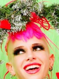 Roxy Contin Tattooed Christmas Babe
