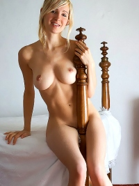 Corinna Naked Blonde Angel