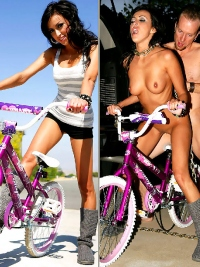 Riding a Bike or Riding a Cock