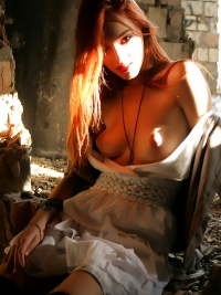 Awesome Redhead Perky Titties