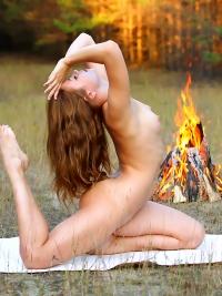 Sexy Lubricious Angel Campfire