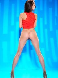 Sexy Yarina A Shiny Long Legs
