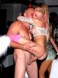 Jessica Lynn wild orgy in the vip