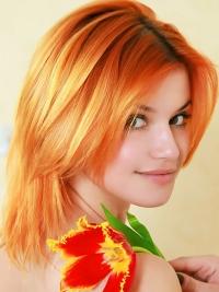Cute Redhead Violla A Perky Tits
