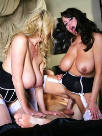 Brandy Talore and Kelly Madison