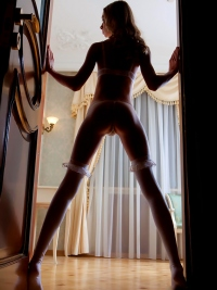 Natural Sexy Blond Girl Augusta Crystal Provocative Posing HOT!