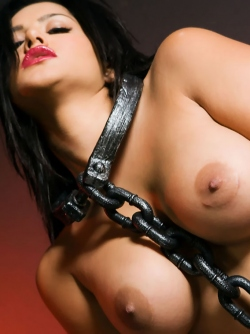 Tied Up Sunny Leone Ready for Amazingly Wild BDSM Sex
