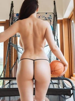 Brand New Set of Big Boobed Joey Fisher Playing Strip Basketball