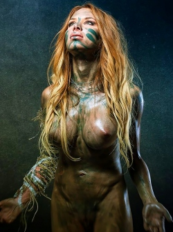 The Eroticism of Oliver Playford - Incredibly Hot Busty Models