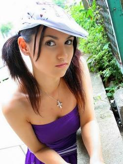 The Hottest Japanese Super Pornstar Maria Ozawa in Purple Dress