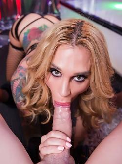 Damn Hot Pornstar Sarah Jessie in Personal Dance - Hot POV Porn