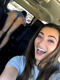 Abigail Mac and Dani Daniels - Free Lesbian Vehicular Sex Photos