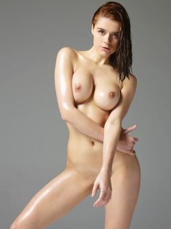 Kloe Shows her Shiny Pierced Tits