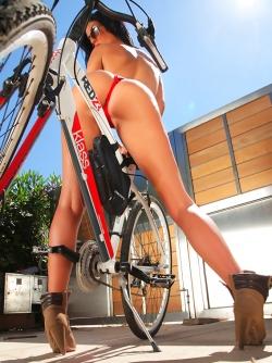 Busty Ella Mai - Mountain Biking