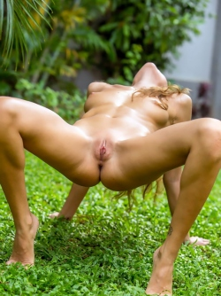 Mango A aka Katya Clover Provocative Posing Outdoors