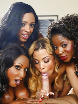 Diamond Jackson , Jade Aspen , Anya Ivy and Jasmine Webb