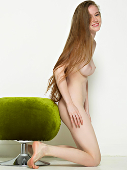 Emily Bloom Ecstatic Energy Pouffe