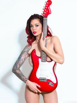 Tera Patrick Fender Stratocaster