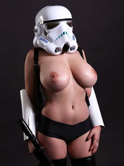 Big titted Redhead Bombshell Tessa Fowler Stormtrooper with Big Tits