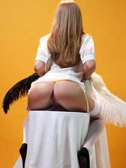 Horny Angel Alyssa A in her White Lingerie - Pink Pussy Pictures