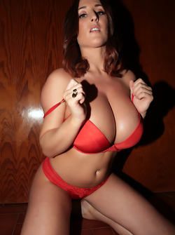 Super Sexy Babe with Bodacious All-natural Boobs - Stacey Poole
