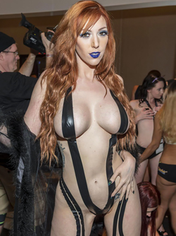 Fantastic Lauren Phillips at the 2018 AVN Adult Entertainment Expo