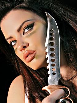 Big Boobed Action Girl Dana Hamm