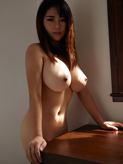 Busty Asian Babe Larisa's Boobs are out of this World Amazing !!